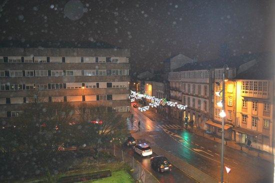 Hotel Compostela: Vista desde la habitación