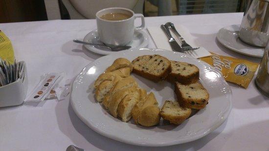 Hotel Compostela: Desayuno apto para celíacos