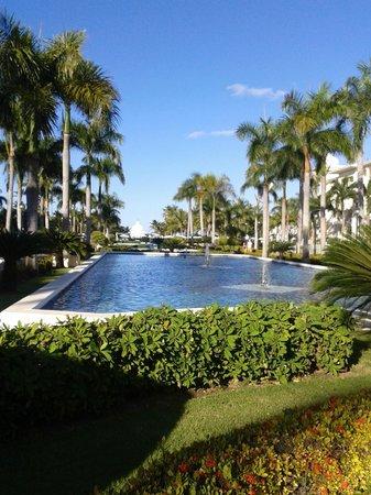 Hotel Riu Palace Punta Cana : Areá do meio do hotel!!