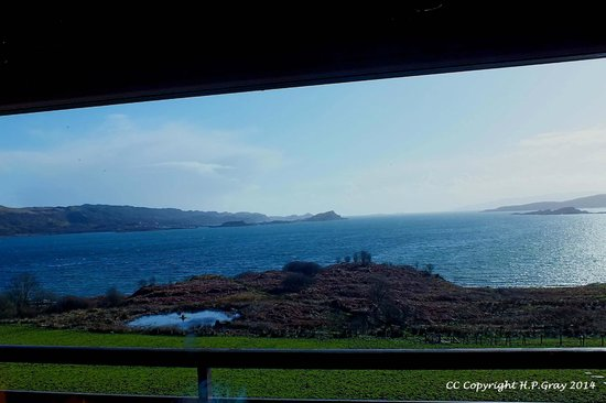 Loch Melfort Hotel and Restaurant: View From Our Bedroom Window