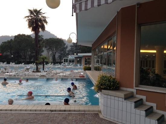 Apollo Hotel Terme: Piscine esterne