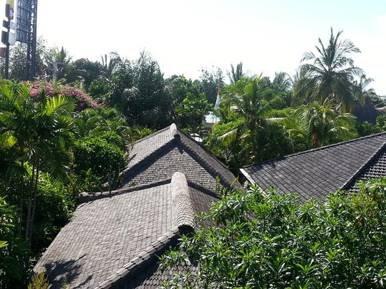 Kuta Seaview Boutique Resort & Spa: View form the 2nd floor rooms