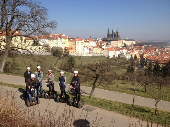 Prague Segway Tours : march segway tour