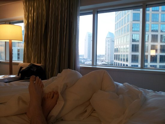 The Westin San Diego : Room with nice look over downtown SD