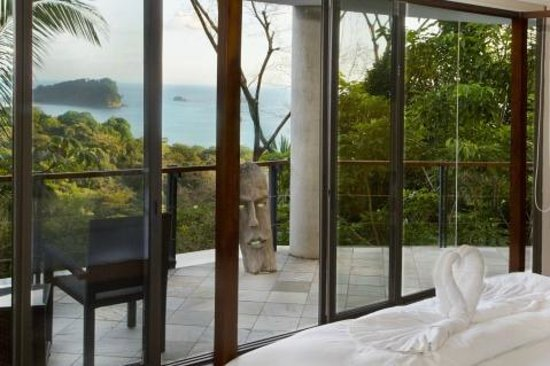 Villa Perezoso : View from Grand Master Suite bedroom w/ deck