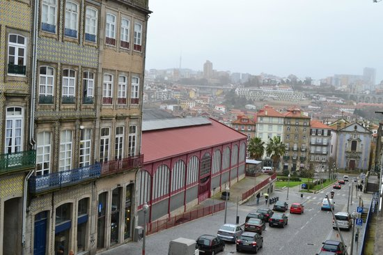 Hotel da Bolsa: Vista desde una de las 2 ventanas de la habitación