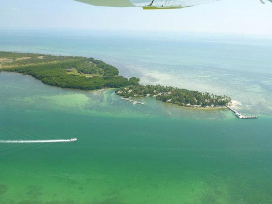 Little Palm Island Resort & Spa, A Noble House Resort: Little Palm Island - View from Seaplane