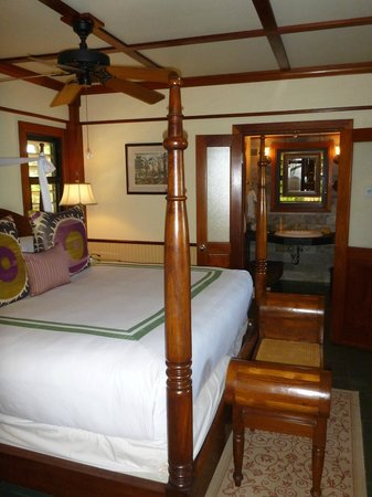 Little Torch Key, Floride : Little Palm Island - Island Grand Suite - Bedroom