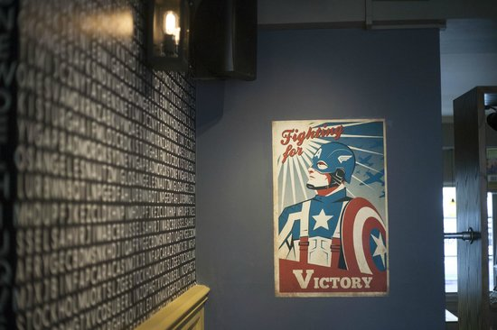 The Cork: Welcome Captain America and the world !