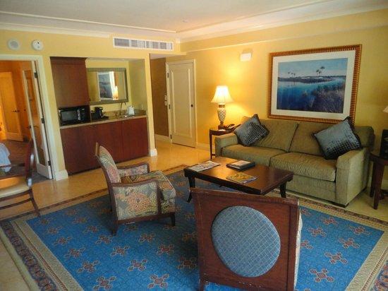 JW Marriott Marco Island Beach Resort: Lanai Suite