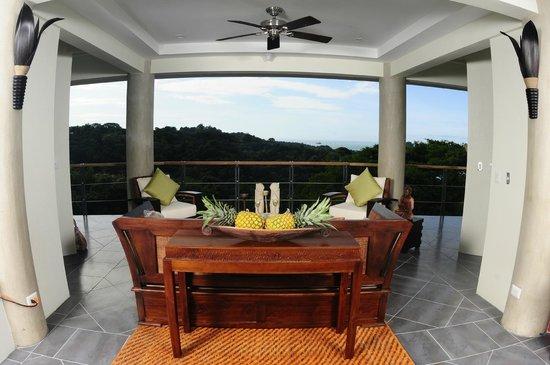 Villa Perezoso: Penthouse living room