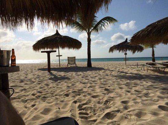 Manchebo Beach Resort & Spa: The Beach at Manchebo