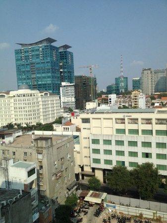 Northern Hotel Saigon : Vue de la chambre