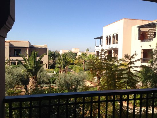 Four Seasons Resort Marrakech: view from room