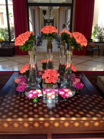 Four Seasons Resort Marrakech: roses everywhere