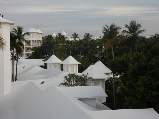 Hotel Riu Palace Macao: vista do ultimo andar p/ o jardim de tras.