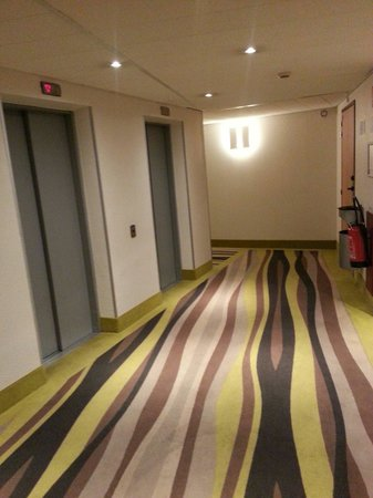 Novotel Suites Paris Montreuil Vincennes : Carpets.!