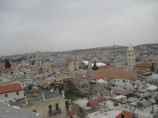Jerusalem Walls - City of David National Park : Jerusalem