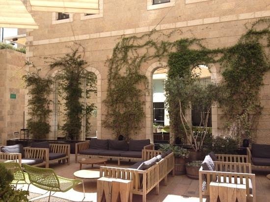 Mamilla Hotel: The patio