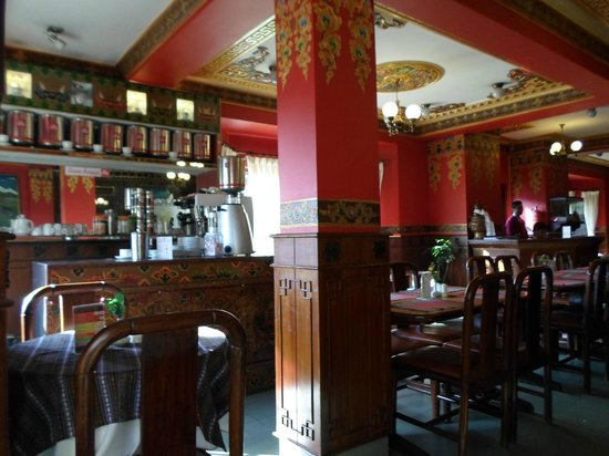 Hotel Tibet: Specialty coffee station