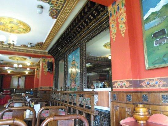 Hotel Tibet: Dining Room