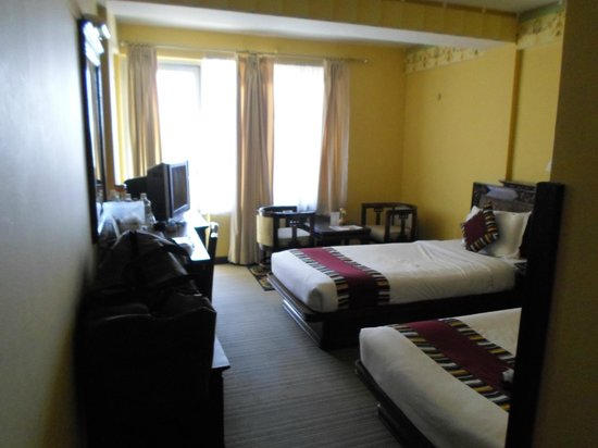 Hotel Tibet: Double occupancy room