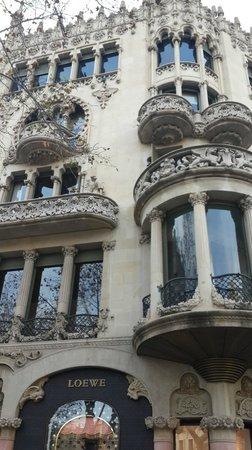 Paseo de Gracia (Passeig de Gracia): Edificios bellísimos