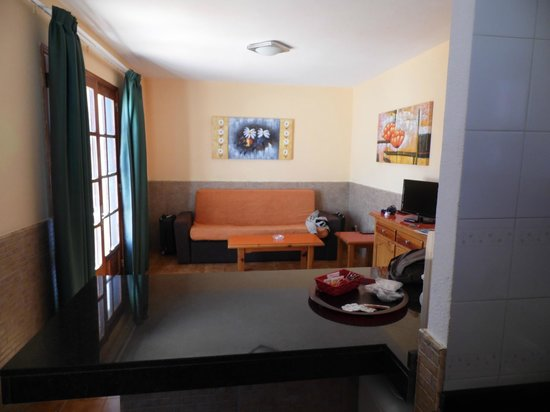 Villa Florida: living area