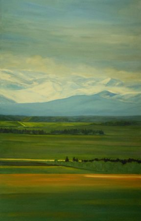 Avens Gallery: Shirley Chinneck - local Canmore artist