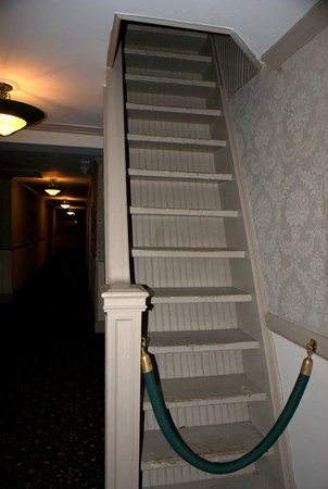 Stanley Hotel: across from room 401  attic??