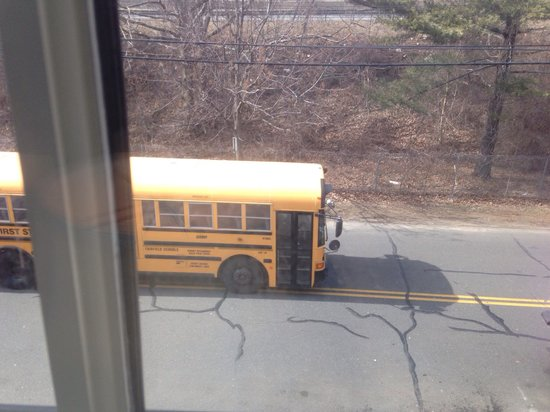 Delamar Southport: Busses right outside your window.