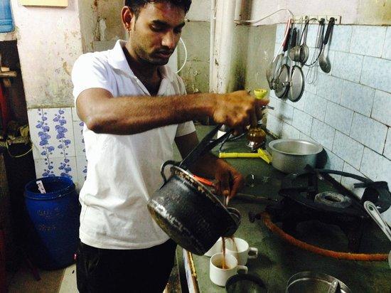 Natural Lake View Restaurant: Kailish's Masala Chai