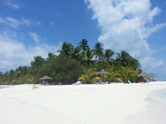 VOI Dhiggiri Resort : Dalla lingua di sabbia