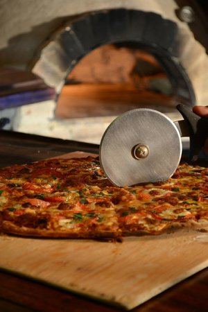 Barocco: Pizza gourmet crujiente