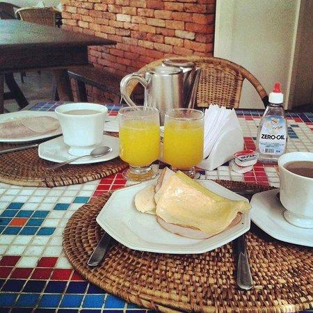 La Chimere: Desayuno