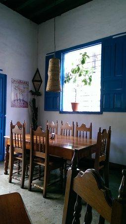 Restaurante La Luna : interno del ristorante