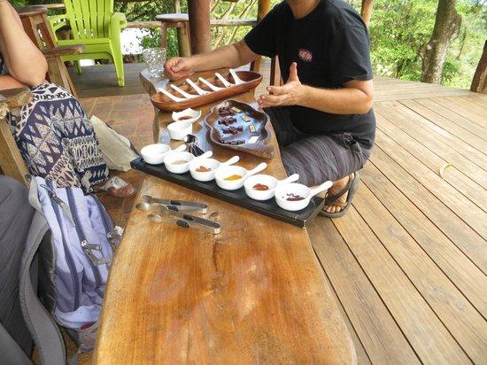 Caribeans Coffee & Chocolate : Chocolate tasting