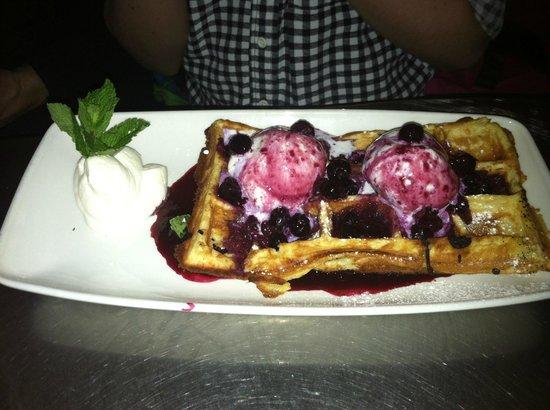 Belgo Noord: custom dessert