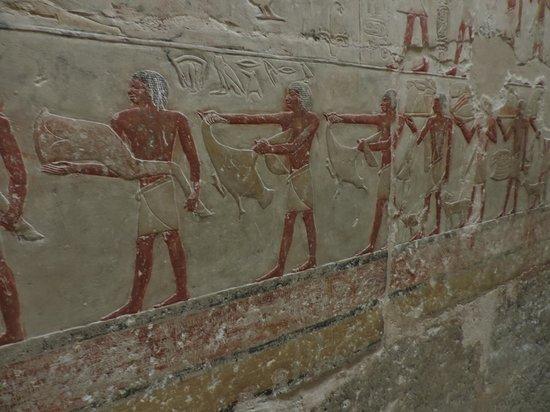 Pyramides de Saqqarah : Pinturas