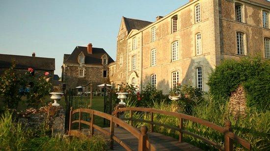 Château de l'Epinay : Façade arrière