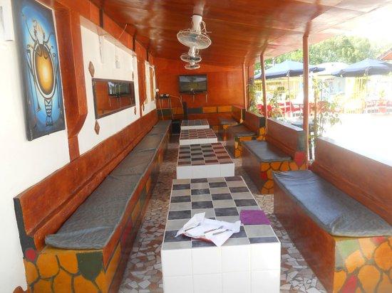 GTS Bar & Restaurant : Live Sport seating area