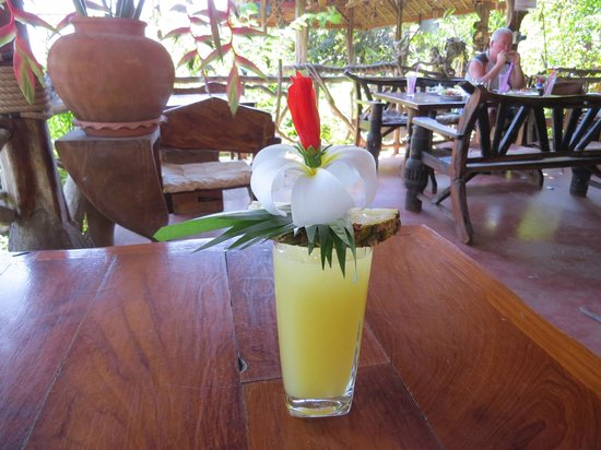 Morning Mist Resort: Too Pretty to Drink!