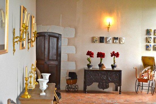 Château de l'Epinay : Couloir