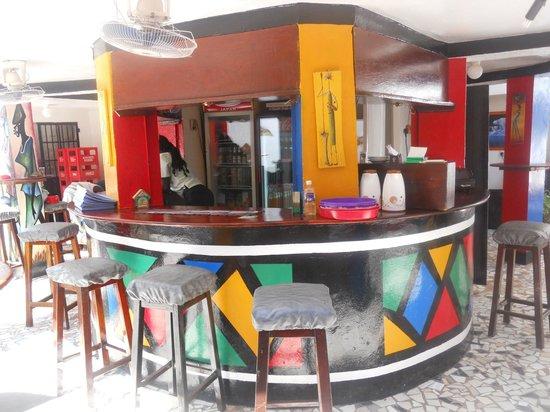 GTS Bar & Restaurant : Bar area