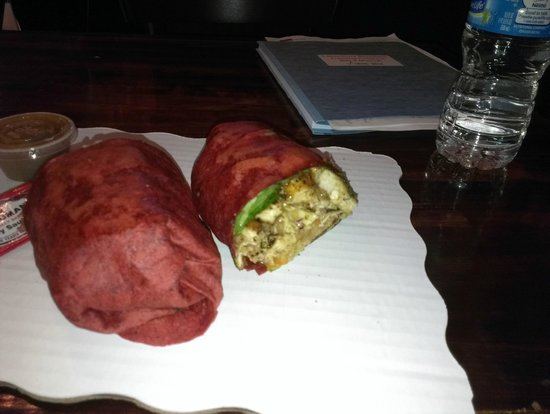 Smooth Tony's Juice Bar & Grill: Thai Chicken Wrap