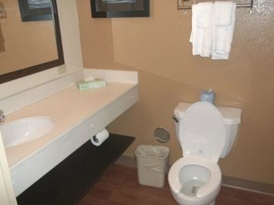 Extended Stay America - Tampa - Airport - Spruce Street : Bathroom
