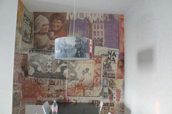 Amsterdam ID Aparthotel: Dining area
