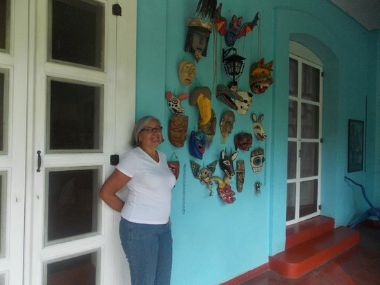 Casa Colonial: art work everywhere
