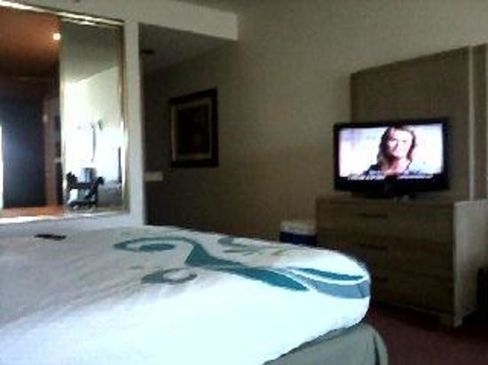 Tropicana Laughlin: Bed and TV
