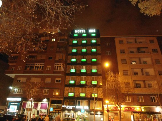 Isis Hotel: Hotel Isis di notte